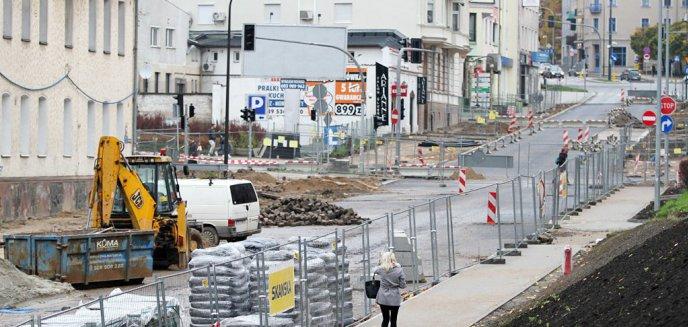 Artykuł: Nowa organizacja ruchu w centrum Olsztyna [SCHEMAT]