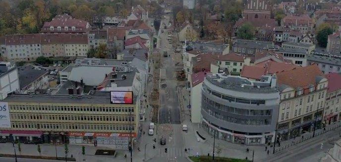 Remont ulicy Pieniężnego widziany z nieco innej perspektywy [FILM]