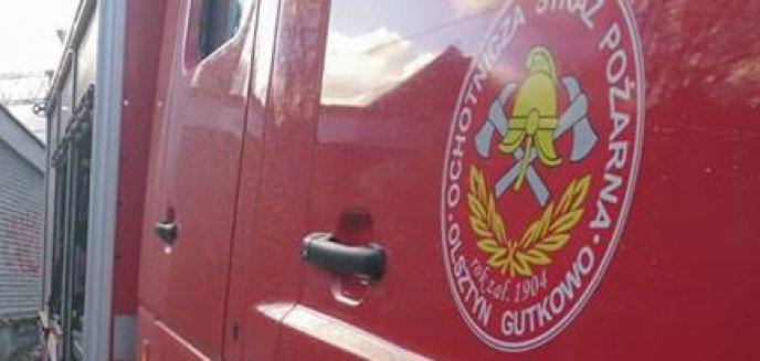 Artykuł: Włamał się do zbiornika z paliwem wozu strażackiego