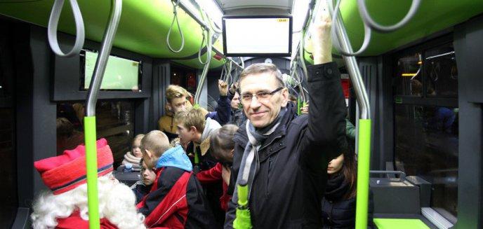 Piotr Grzymowicz: ''Olsztynianie zadowoleni z transportu publicznego''
