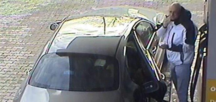 Artykuł: Policja szuka tego mężczyzny. To złodziej, który kradł paliwo