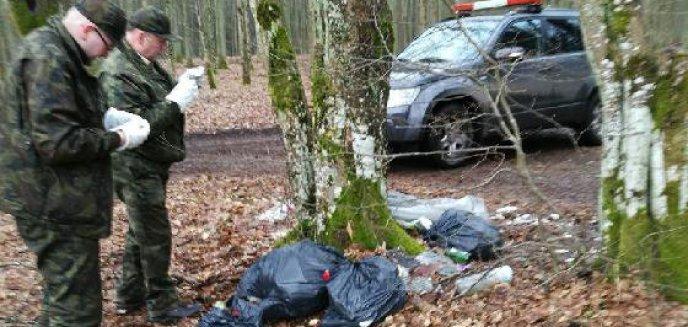 Artykuł: Chciał oszczędzić więc... wyrzucił odpady budowlane do lasu