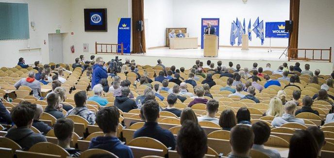 Artykuł: ''Trzeba zlikwidować socjalizm''. Janusz Korwin-Mikke odwiedził Olsztyn [ZDJĘCIA]