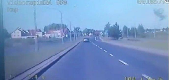 Artykuł: Gnał ulicą Sielską. Stracił prawo jazdy [FILM]
