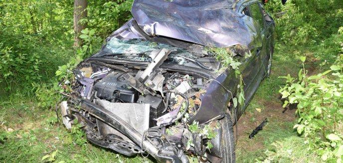 Artykuł: Dwa groźne wypadki na tej samej drodze
