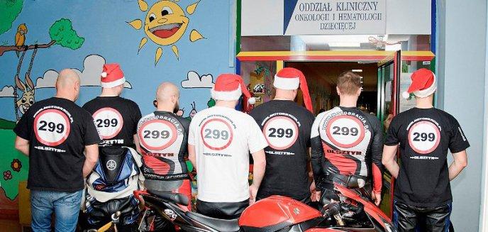 Artykuł: Motobracia odwiedzą małych pacjentów olsztyńskiego szpitala