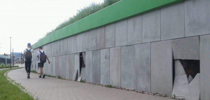 Artykuł: Kolejny akt wandalizmu w Olszynie [ZDJĘCIA]