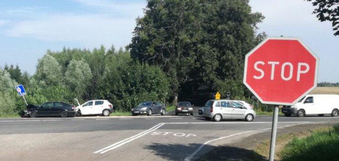 Artykuł: Wypadek w Podlejkach. Kierowca zlekceważył znak STOP