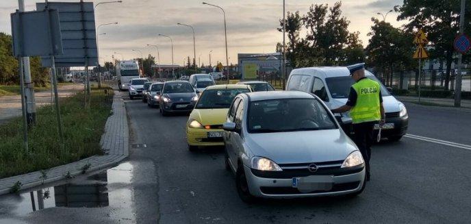 Trzeźwy poranek. Olsztyńska drogówka sprawdza trzeźwość kierowców
