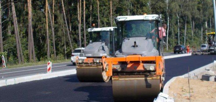 Artykuł: Budowa obwodnicy. Utrudnienia na wjeździe do Olsztyna