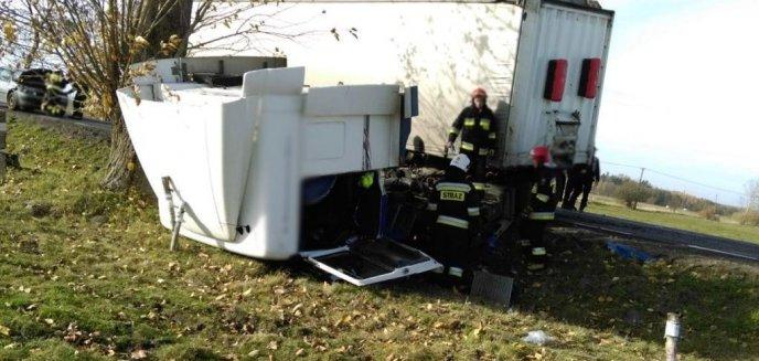 Artykuł: Wypadek na DK51. Droga zablokowana