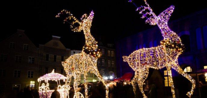 Warmiński Jarmark Świąteczny. Multimedialna choinka i świecące dekoracje 3D