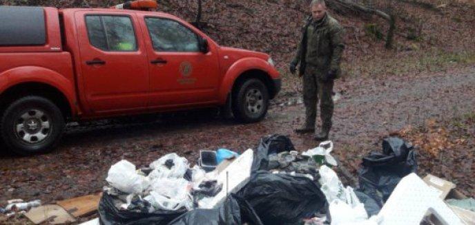 Artykuł: Jedni zaśmiecają inni sprzątają. Miliony na usuwanie śmieci z lasów Warmii i Mazur