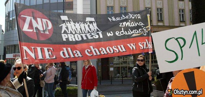 Skąd prezydent Olsztyna weźmie pieniądze na wypłaty strajkującym nauczycielom?