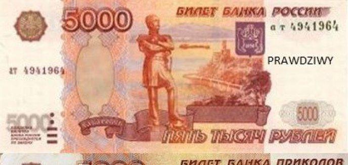Artykuł: Pomysłowy Rosjanin podczas kontroli granicznej przedstawił banknoty z... gry planszowej