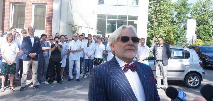 Łzy profesora symbolem końca pewnej ery olsztyńskiej medycyny