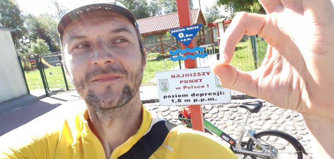 Artykuł: Olsztyński radny rowerem miejskim dojechał do Gdańska i Warszawy
