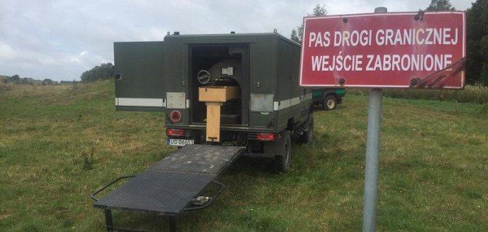 Artykuł: Podczas patrolu na granicy znaleźli granat. W akcji saperzy