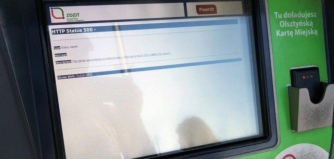 Artykuł: Kolejne problemy z biletomatami w Olsztynie. Tym razem błąd po stronie aplikacji