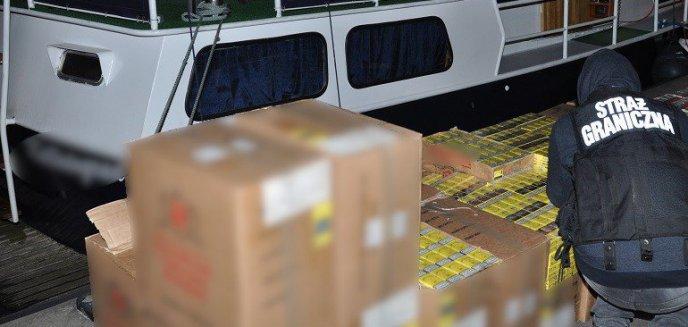 Artykuł: Strażnicy rozbili polsko-rosyjską grupę przemycającą papierosy i bursztyn