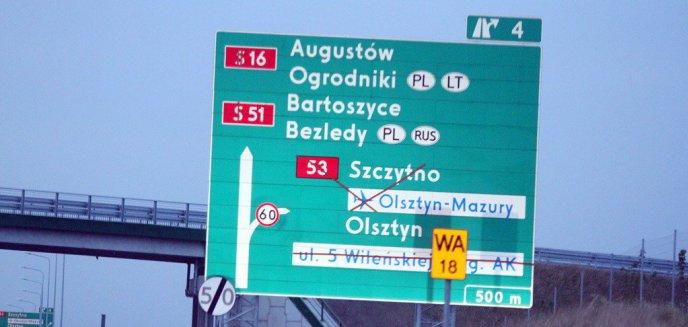 Artykuł: Miał być dostępny w czerwcu, a dalej jest zamknięty. Co ze zjazdem na Szczytno z obwodnicy Olsztyna?