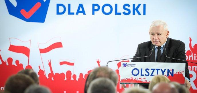 Artykuł: Jarosław Kaczyński na konwencie w Olsztynie. Mówił o bezpieczeństwie i inwestycjach w regionie [ZDJĘCIA, WIDEO]