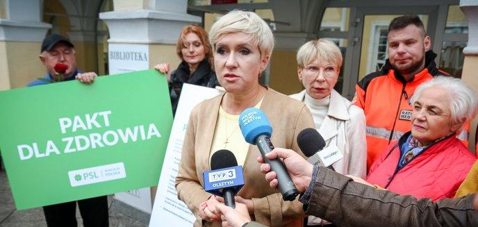 W Olsztynie PSL-Koalicja Polska apelowała o podpisanie ''Paktu dla zdrowia''