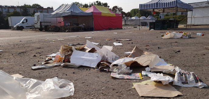 Artykuł: Zaśmiecone targowiska miejskie. Czy są sprzątane zbyt rzadko? [ZDJĘCIA]