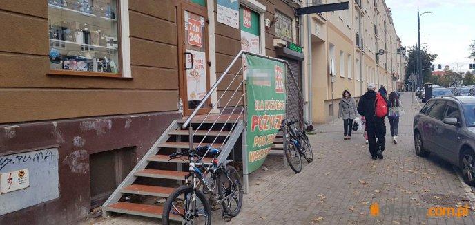 Artykuł: Zuchwały skok na lombard w centrum Olsztyna. Policja długo zachowywała milczenie