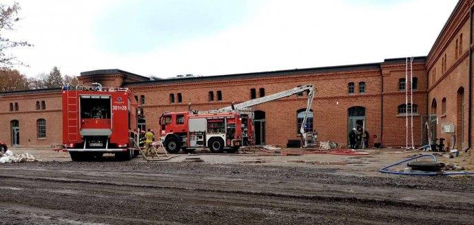 Milionowe straty po pożarze w koszarach. Ruszyła zbiórka pieniędzy na remont Banku Żywności