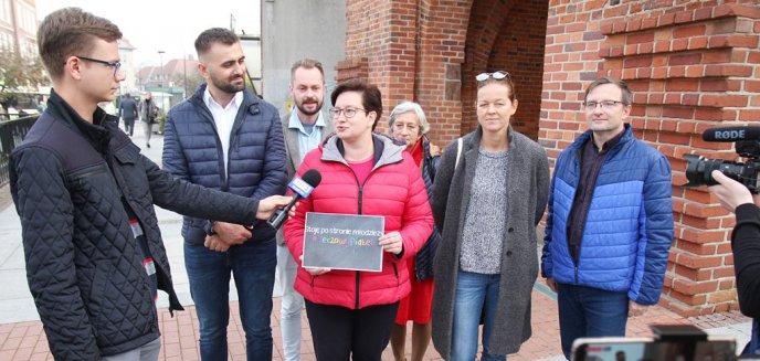 Artykuł: Elbląska ''jedynka'' Lewicy w... Olsztynie przedstawiła program na najbliższe lata