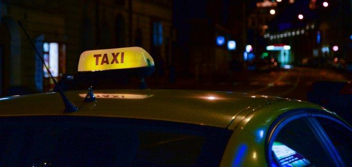 Pijana 30-latka kurs taksówką zakończyła w policyjnej celi