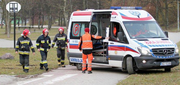 Tragiczny wypadek pod Olsztynem. Pasażer zginął, kierowca pijany