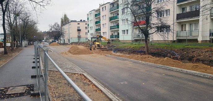 Artykuł: W końcu otworzą ul. Jagiellońską. Autobusy powrócą na swoje trasy