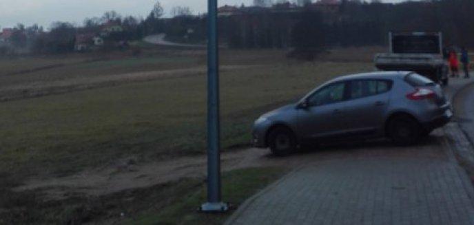 Artykuł: Gmina Dywity. Ścieżka rowerowa dopiero powstaje, a już została okradziona