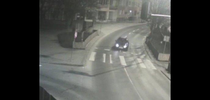 Jechał ''wężykiem'' w centrum Olsztyna. 36-latek wracał z restauracji, gdzie wypił sporo alkoholu [WIDEO]