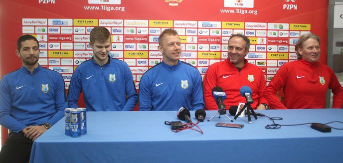 Nowi piłkarze Stomilu Olsztyn zapowiadają walkę o skład i wyznaczone cele [WIDEO]