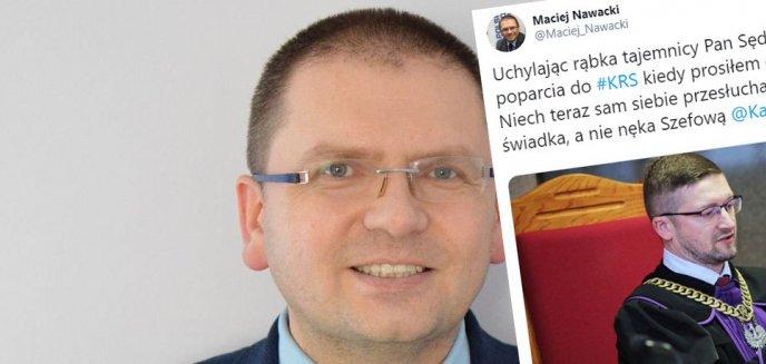 Artykuł: Maciej Nawacki, prezes Sądu Rejonowego w Olsztynie: ''Pan sędzia Juszczyszyn widział już listę poparcia do KRS''