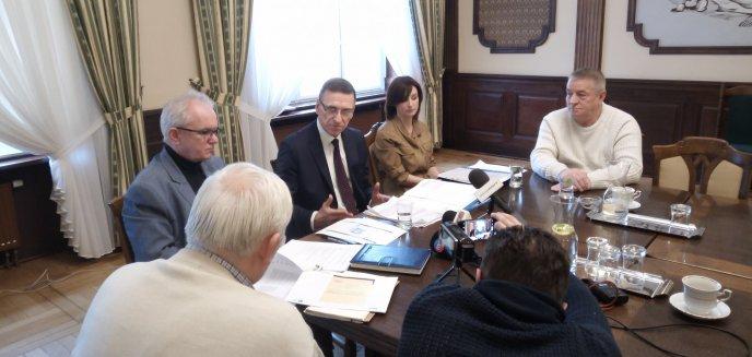 Artykuł: Prezydent Piotr Grzymowicz: ''Hala Urania jest priorytetem, jeżeli chodzi o wydatki sportowe''