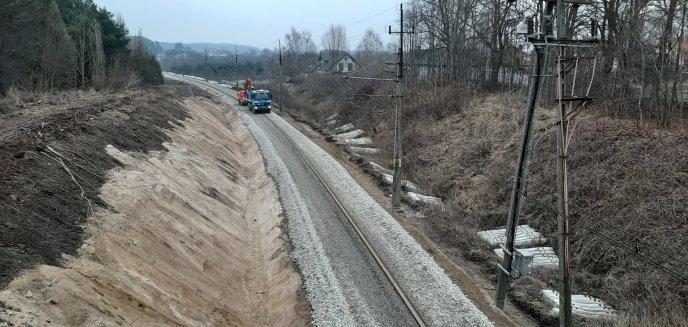 Artykuł: Trwa remont linii kolejowej do Gutkowa. Na jakim jest etapie?