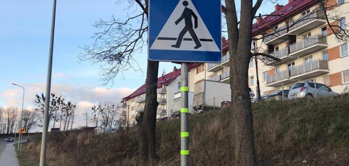 Artykuł: Oryginalna akcja strażaków z Bartąga. Chcą, żeby piesi byli bezpieczniejsi