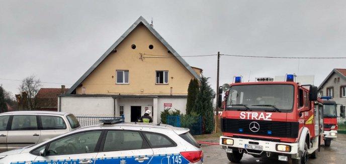 Pożar w szkole pod Olsztynem. Ewakuowano 37 osób