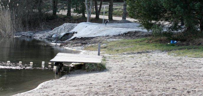 Artykuł: Brzeg jeziora Tyrsko zalany betonem? Tak, ale tylko niewielki fragment [ZDJĘCIA, WIDEO]