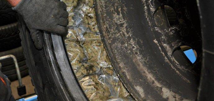 Marihuanę ukrył w kołach. Narkotyki z Hiszpanii, o wartości 2 mln zł, nie trafią do Polski [WIDEO]