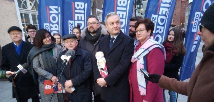 Skandal na konferencji z kandydatem na prezydenta. Robert Biedroń zwyzywany w Olsztynie!