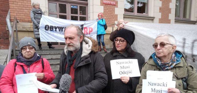 Wojciech Kinasiewicz: ''Nawacki jest kłamcą i oszustem''. Złożono kolejne zawiadomienia na prezesa sądu