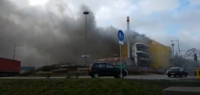 Pożar w hucie szkła w Działdowie. Jedna osoba nie żyje [WIDEO]