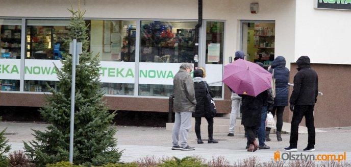 Artykuł: Olsztyńskie sklepy, drogerie i poczty wprowadzają restrykcyjne środki zapobiegawcze [ZDJĘCIA]