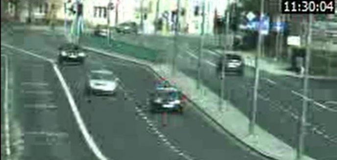 Niebezpieczny weekend na olsztyńskich drogach. Kolizja i przekroczenie prędkości o 50 km/h [WIDEO]