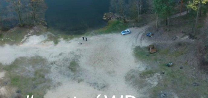 Artykuł: Kontrole policji z dronem. 40-latek przyjechał do Olsztyna na zakupy, a 36-latek ''dziwnie się zachowywał'' [WIDEO]